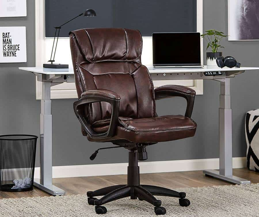 Bonded Leather Desk chair