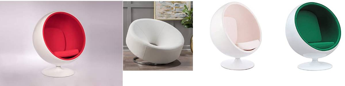 Egg Desk Chairs