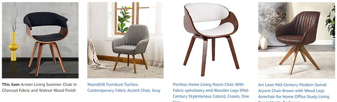 Petite and Small Desk Chairs