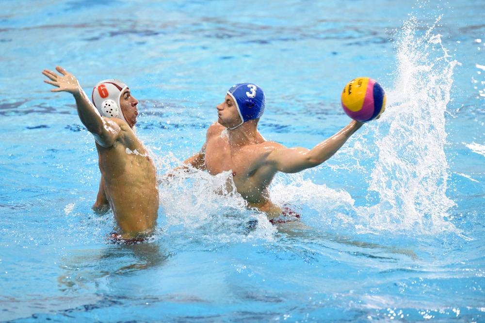A school competition for Water Polo