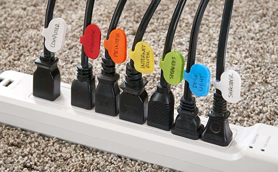 Cord cable tags