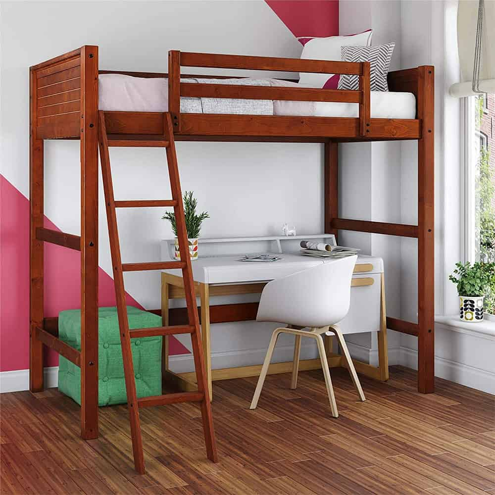 Loft Bed Home Office