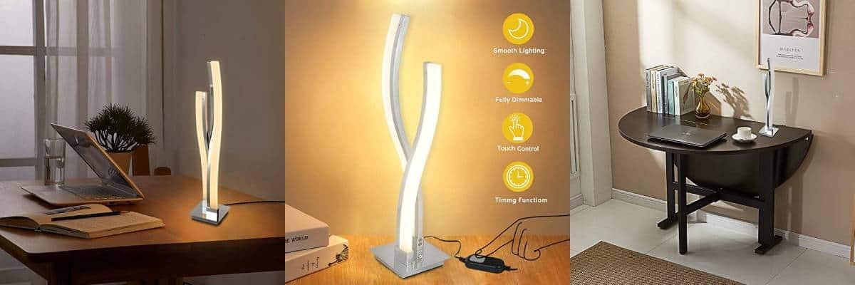 contemporary desk lamp