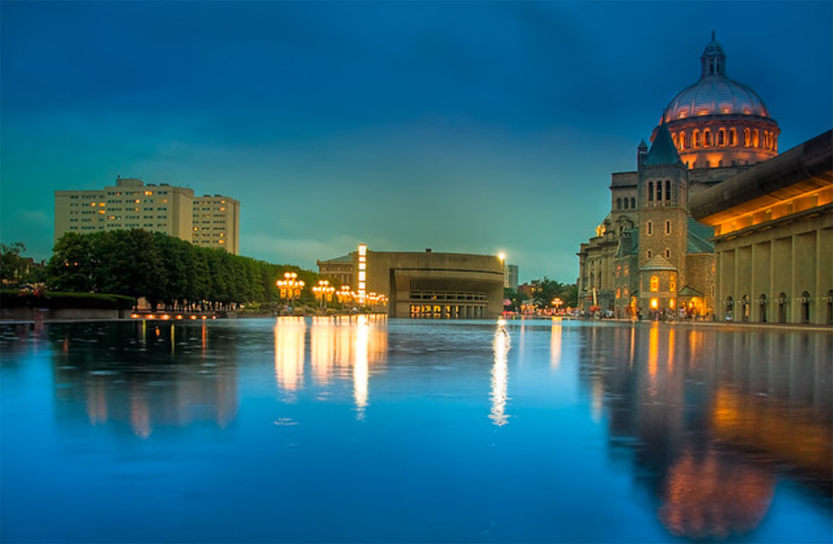 Christian Science Reflection Pool