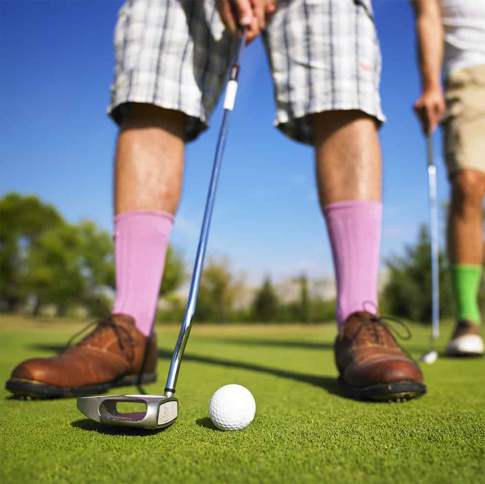 Golfing Improves Concentration