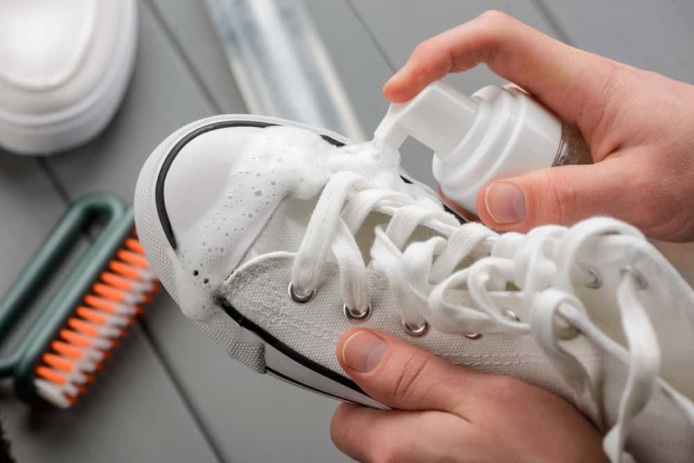 Use bleach or not bleach for sneakers