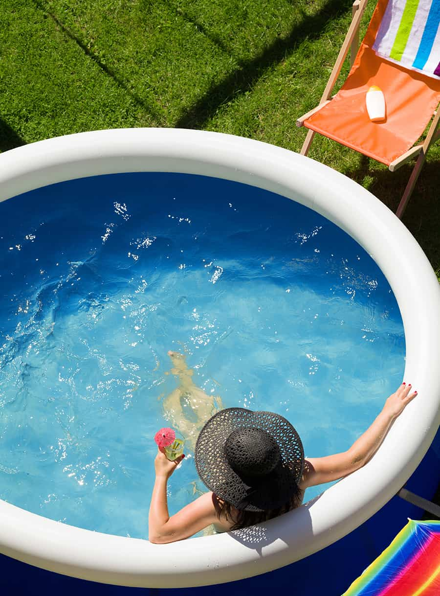 Family Pool Relaxing Zone