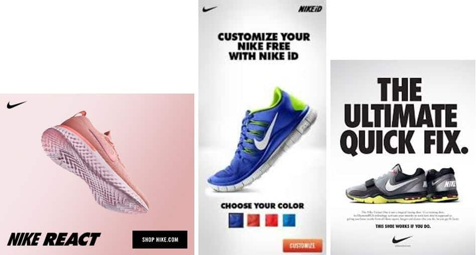 nike display ads examples