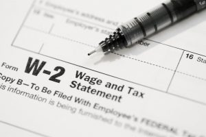 Work Worries W-2 Forms
