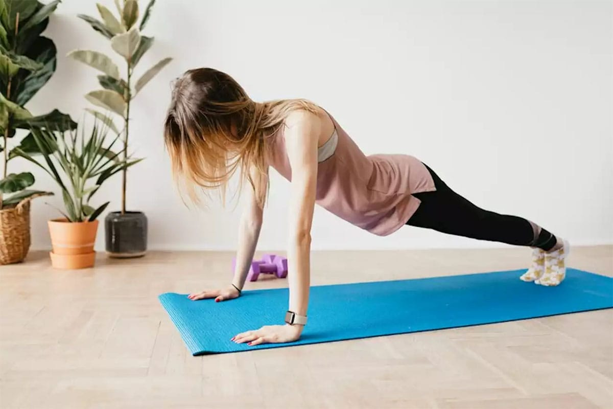 Exercise improves mood and releases stress