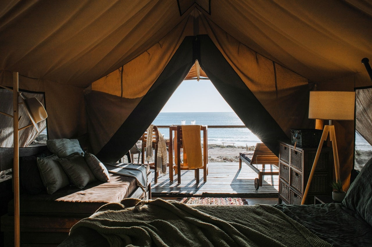 Make a tent your second home