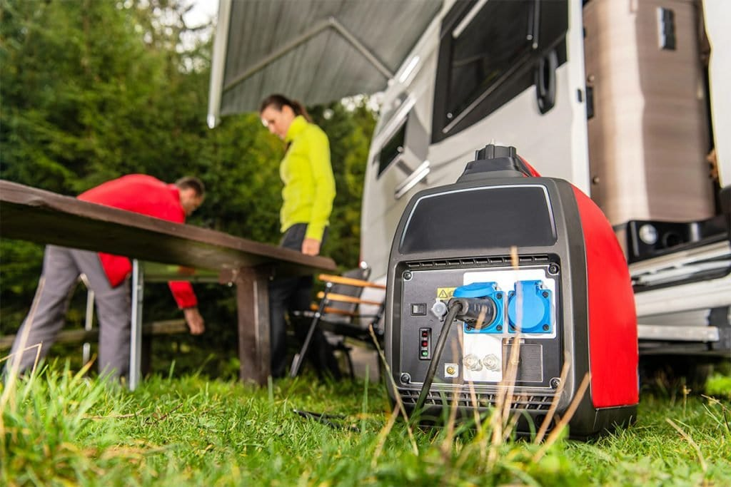 keep your generator safe while camping